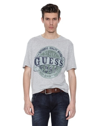 Guess Camiseta Chase Gris