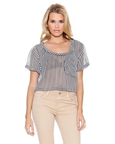 Guess Camiseta Anastasia Blanco / Negro