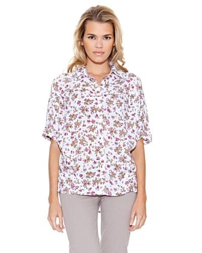 Guess Camisa Ann Blanco / Beige / Rosa