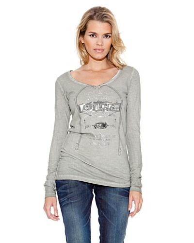 Guess Camiseta Christine Gris