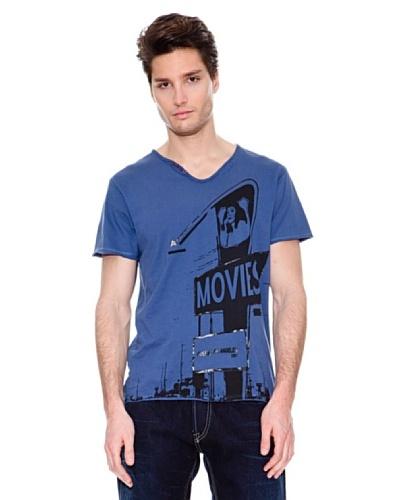 Guess Camiseta Móvil Azul Oscuro