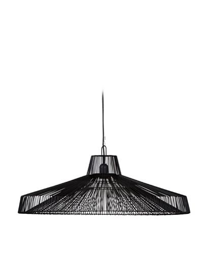HAANS Lifestyle Lámpara Colgante H 23 cm Negro