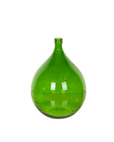 HAANS Lifestyle Jarrón de vidrio 100% reciclado Verde