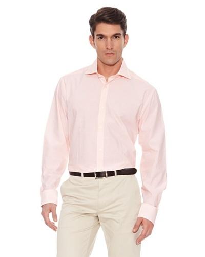 Hackett Camisa Rayas Naranja / Blanco