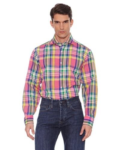 Hackett Camisa Cuadros Multicolor