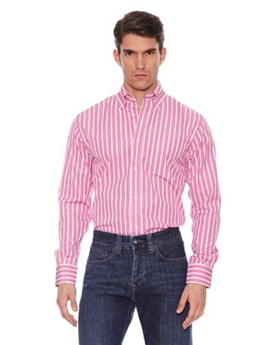Hackett Camisa Rayas Rosa