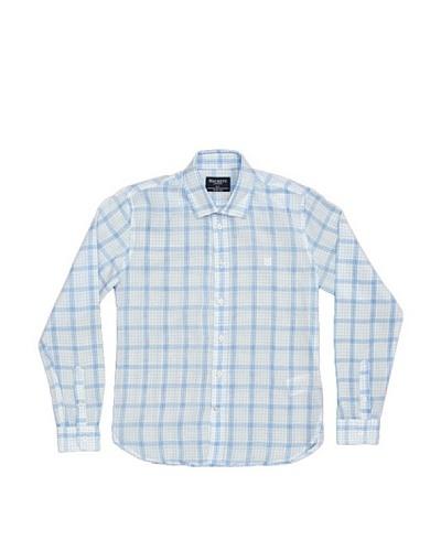 Hackett Camisa Sport Azul / Blanco