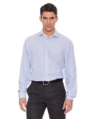 Hackett Camisa Rayas Azul / Blanco