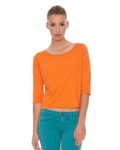 Hakei Camiseta Básica Naranja