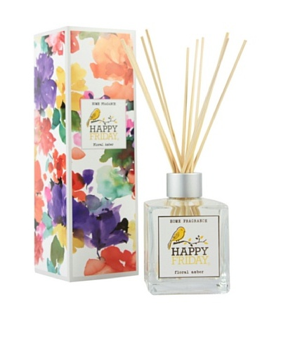 Happy Friday Ambientador Sticks Floral Amber 200 ml