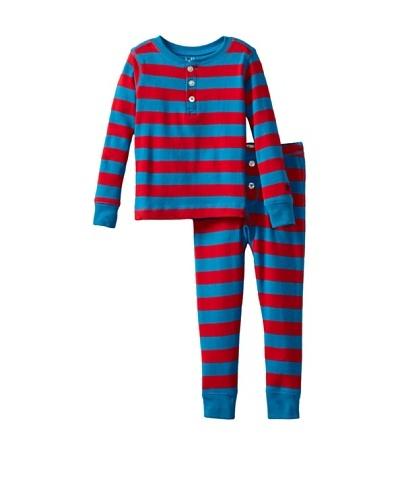 Hatley  Pijama Lebedos Rojo / Azul