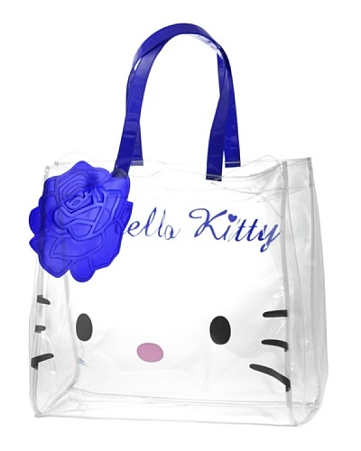 Hello Kitty Bolso Crystal Rose Azul