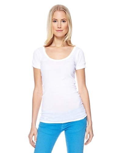 Herrlicher Camiseta Madeleine 1x1 Rib