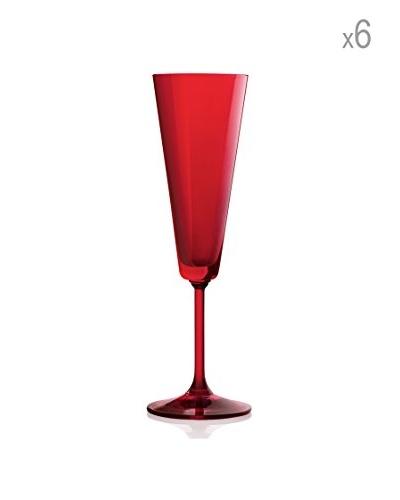 H&H Juego de 6 copas de champagne cl Jazz 18