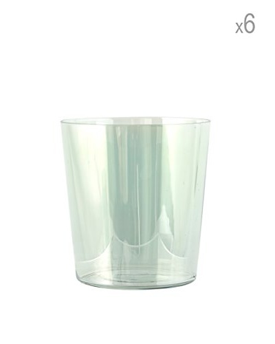H&H Juego De 6 Vasos Starck 35 cl