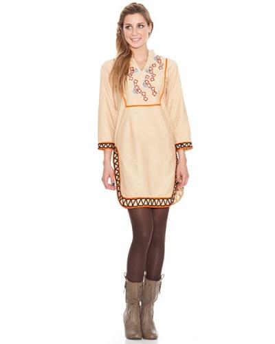 Hhg Vestido Doris Camel