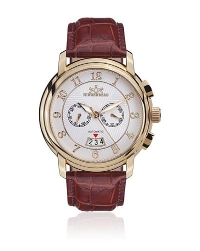 Hindenberg Reloj Hombre 350-H Skynight Oro / Plata