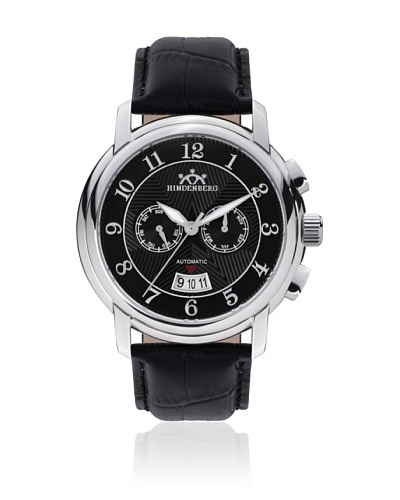 Hindenberg Reloj Hombre 350-H Skynight Negro
