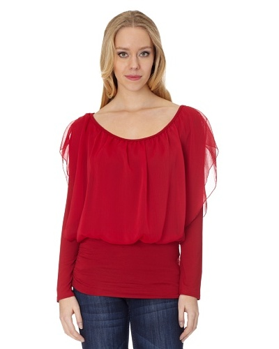 Holly Kate Blusa Semitransparente