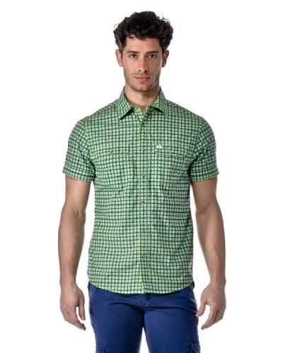 Hot Buttered Camisa Verde Ácido
