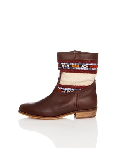 Howsty Vintage Kilim Boot  Marrón 40