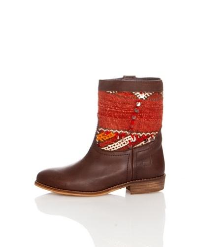 Howsty Vintage Kilim Boot  Marrón 37