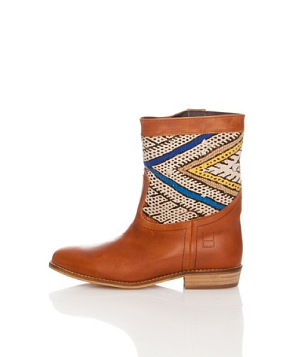 Howsty Vintage Kilim Boot  Cuero 39