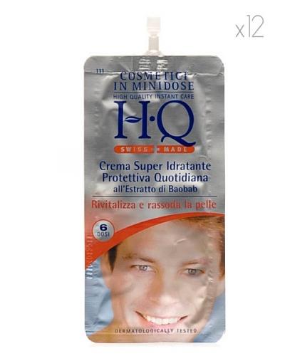 HQ Kit De 12 Productos Crema Hidratante Protectora Hombre 20 ml cad.