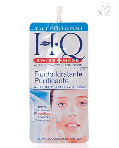 HQ Kit De 12 Productos Fluido Hidratante Purificante 15 ml cad.