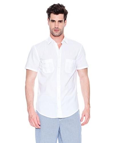 Hugo Boss Camisa Egrifye Blanco