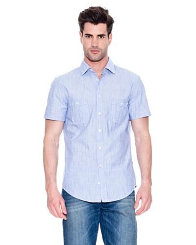 Hugo Boss Camisa Egrifye Azul