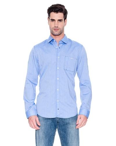 Hugo Boss Camisa Marcos Azul Oscuro