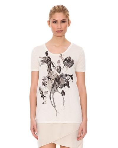 Hugo Boss Camiseta Terzy Blanco