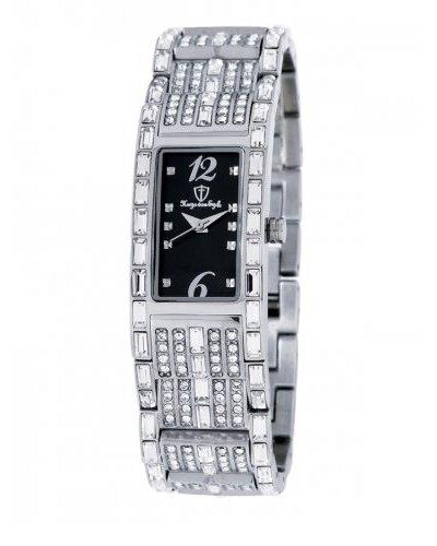 Hugo von Eyck Reloj Carina Strass/Negro