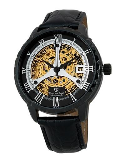 Hugo von Eyck Reloj automático Corvus Negro