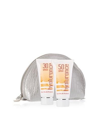 Hyaluronce Set Protección Solar: Protector SPF 50 de 50 ml + Protector SPF 30 de 50 ml + Neceser