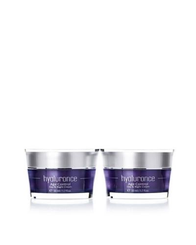 Hyaluronce Set Anti Edad: 2 Cremas Día Control Edad y Crema Noche 50 ml