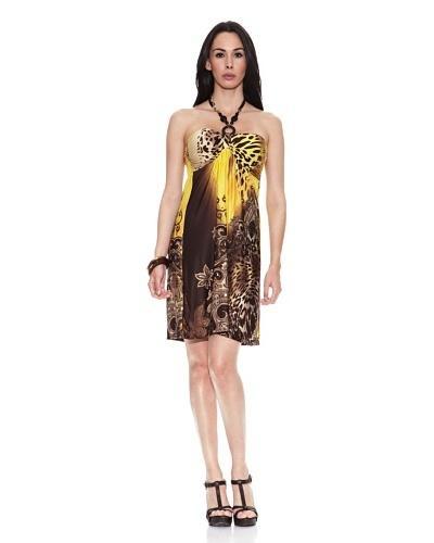 Ibiza Fashion Vestido Liona Amarillo