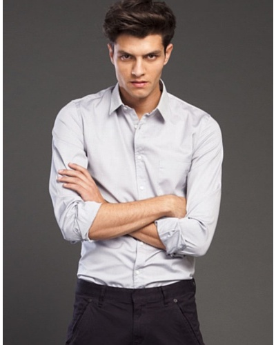 Ikks Camisa Oxford