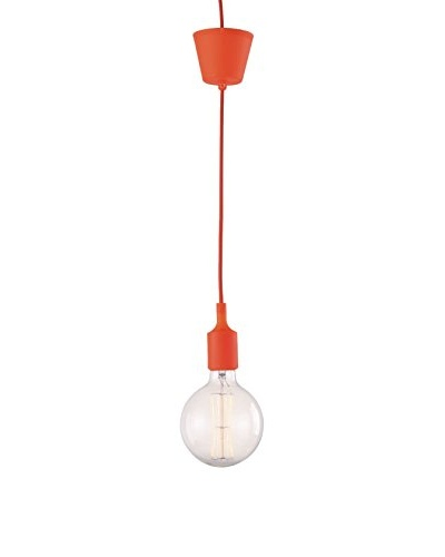 Iluminación & Ambiente Lámpara Vintage Ovis Naranja