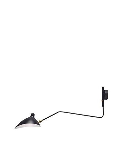 Iluminación & Ambiente Lámpara Mouille 1 Brazo Aplique Blanco