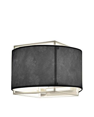 Iluminación & Ambiente Lámpara Lan Aplique Screen Negro