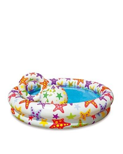 Color Baby Piscina Con Flotador 106 L