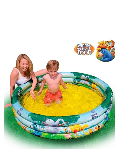 Color Baby Piscina 3 Aros Winnie The Pooh 288 L