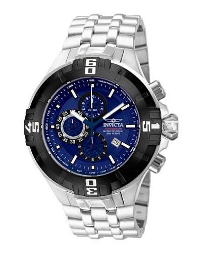 Invicta 12365 - Reloj de Caballero cuarzo metálico Plata