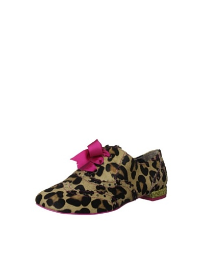 Irregular Choice Women's Zapatos Planos Gravatati On Pull Mary Jane
