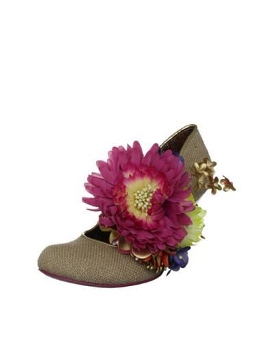 Irregular Choice Women's Zapatos Tacón Splish Splash Fibre Decorative