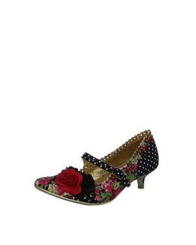 Irregular Choice Women's Zapatos Tacón Daisy Dayz Mary Janes