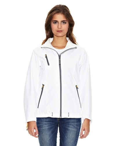 James Harvest Chaqueta softshell Savannah Blanco