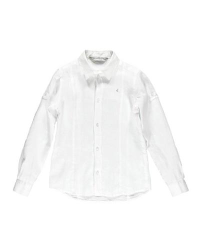 Jbe Camisa Lino Solapa 3/16 Años Niño